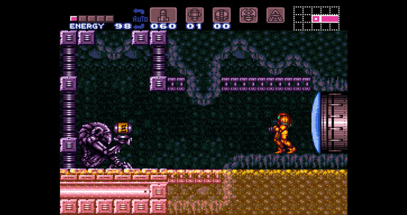 Super Metroid - WiiU eStore - SNES (Nintendo, Intelligent Software, 1994)