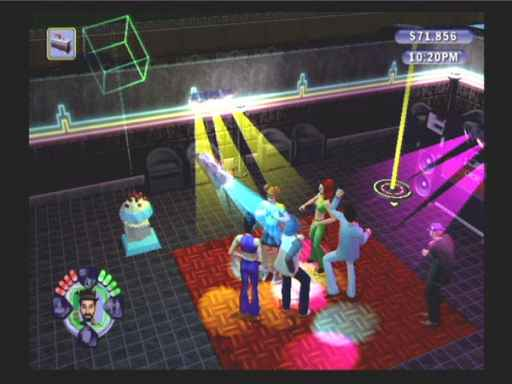 Les Sims : Permis de sortir - PS2 (Electronic Arts - Maxis, 2003)