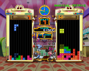 Magical Tetris Challenge - Playstation (Capcom, 1999)