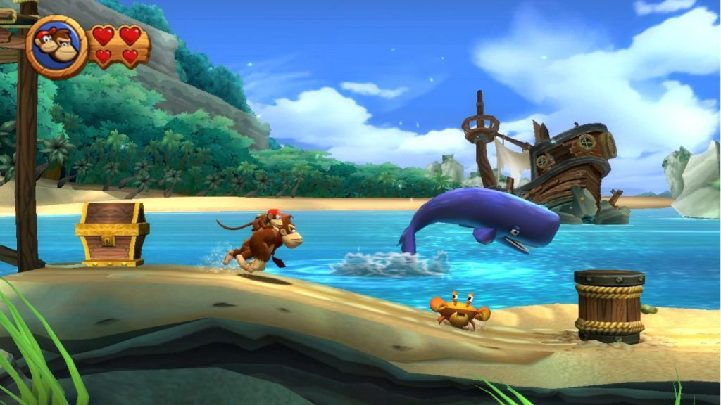 Donkey Kong Country Returns - Wii (Nintendo, Retro Studio, 2010)