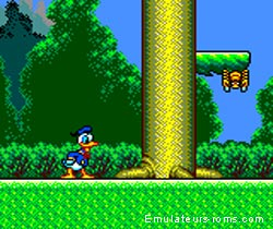 Donald Duck : Lucky dime caper (GameGear)