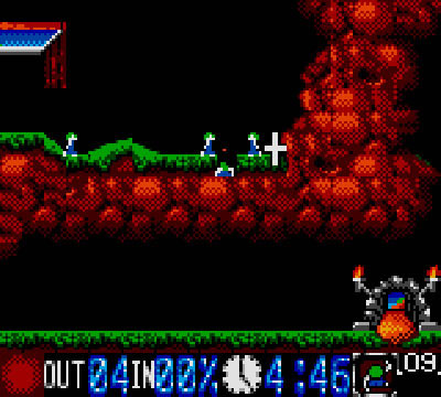Lemmings (GameGear)