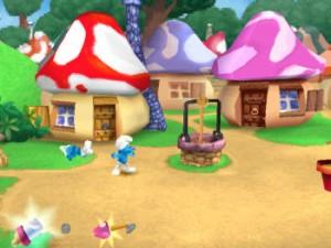 Les Schtroumpfs - PlayStation (Hello Games - Infogrames, 1999)