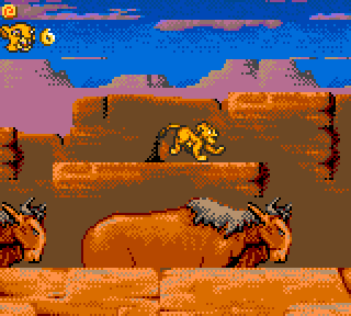 The Lion King - Game Gear (Sega - Syrox, 1994)