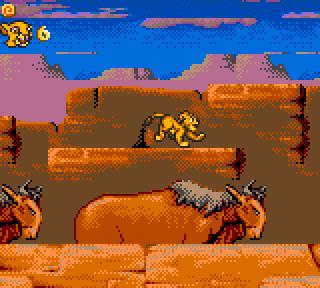 The Lion King - Game Gear (Sega - Syrox, 1994)