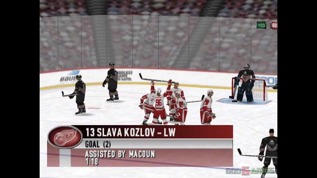 NHL'99 - Playstation (EA Sport, 1998)