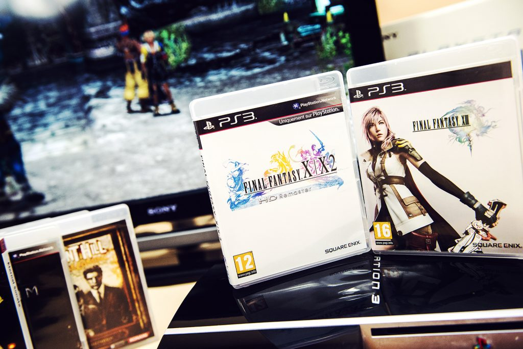 Final Fantasy XIII et Final Fantasy X/X2 HD sur PS3