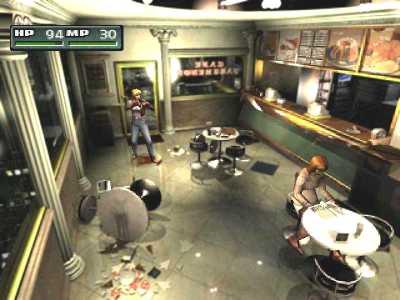 Parasite Eve 2 - Playstation (Squaresoft, 2000)
