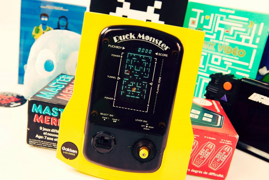RETROGAMING - Gakken - Puck Monster