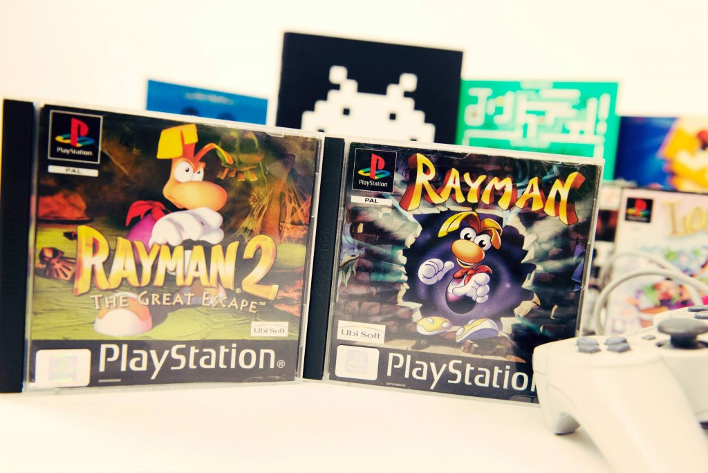 RETROGAMING - Playstation - Rayman & Rayman 2