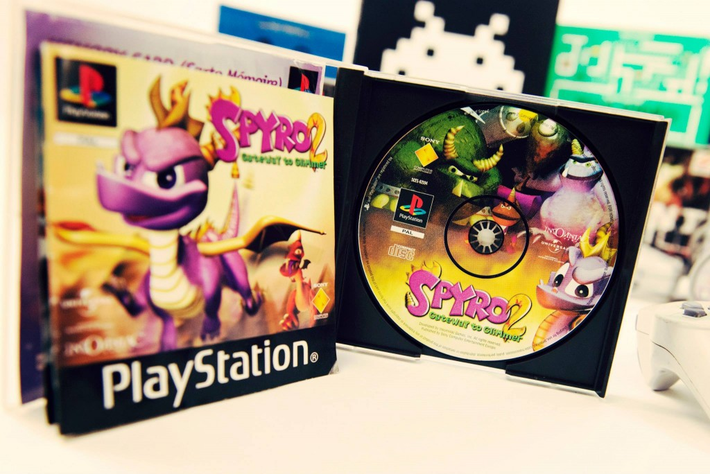 RETROGAMING - Playstation - Spyro 2