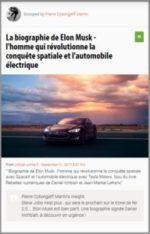 Scoop : La biographie de Elon Musk – l'homme qui révolutionne la conquête spatiale et l'automobile électrique