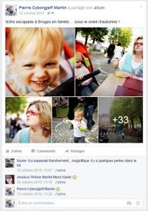 Facebook - Balade à Bruges - 2010