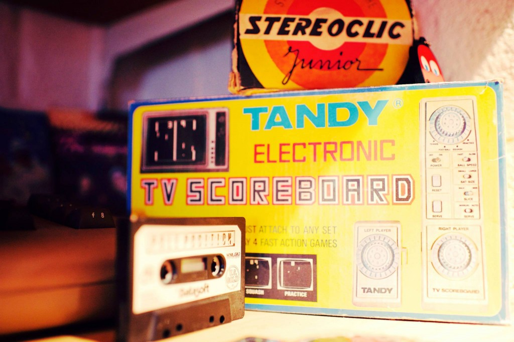Tandy TV Scoreboard