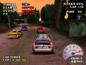 V-Rally - PS1 (Infogrames - Eden Studio, 1997)
