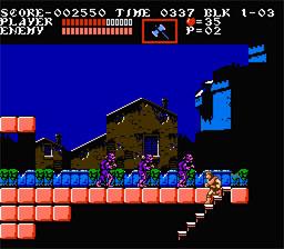Castlevania III : Dracula's curse (NES - eStore)