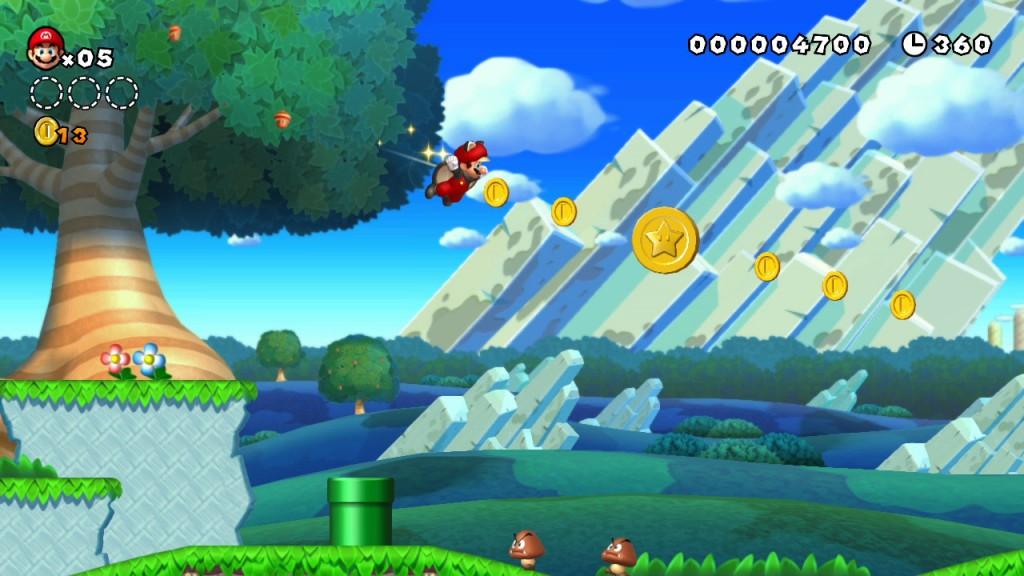 New Super Mario Bros. U (WiiU)