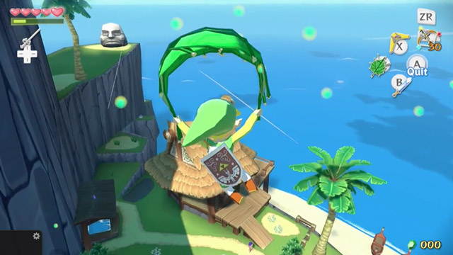 Legend of Zelda : Wind Waker HD (WiiU)