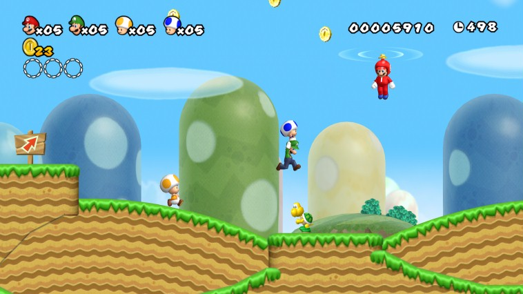 New Super Mario Bros. Wii - Wii (Nintendo, 2009)
