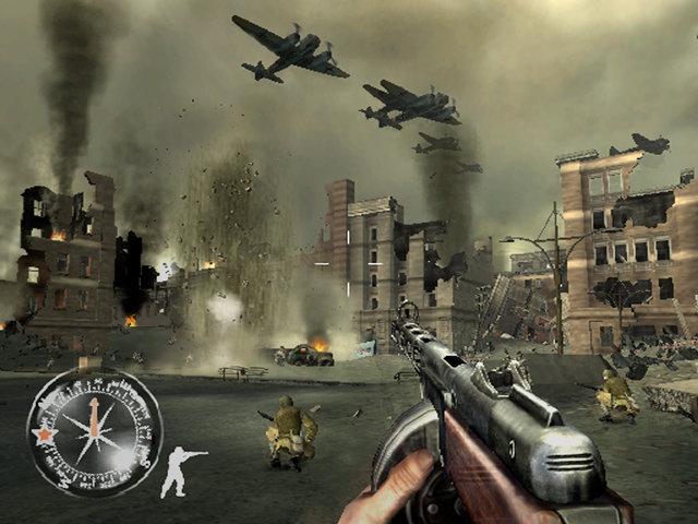 Call of Duty : Le jour de gloire - PS2 (Activision - Spark, 2004)