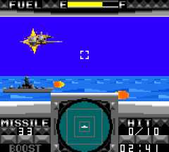 G-Loc : Air Combat - GameGear (Sega, 1991)