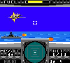G-Loc : Air Combat - GameGear (Sega, 1991)
