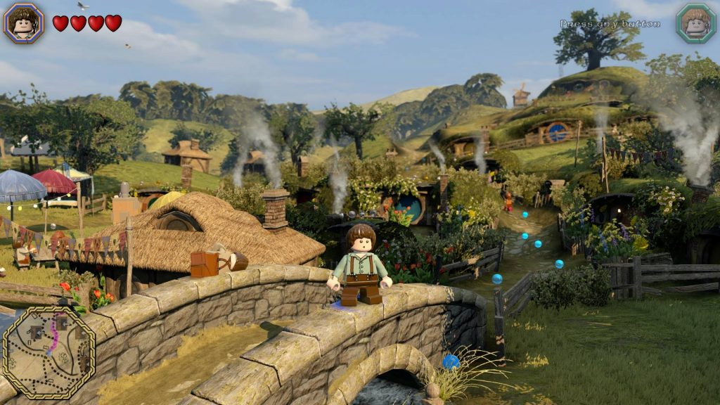 LEGO : The Hobbit (WiiU)