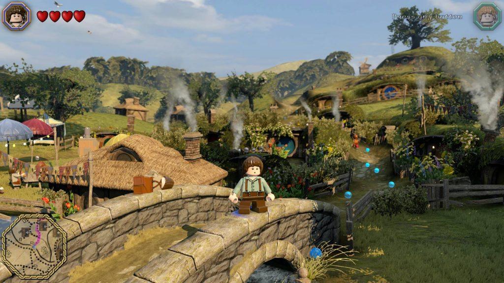 LEGO : The Hobbit (WiiU)