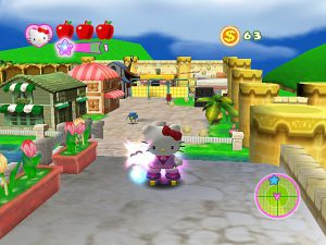 Hello Kitty : Roller Rescue - PS2 (Empire Interactive - Typhoon Games, 2005)