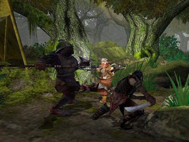 Le Seigneur des Anneaux : Les deux tours (PS2)