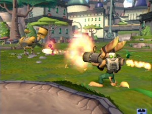 Ratchet & Clank - PS2 (Sony Computer - Insomniac Games, 2002)