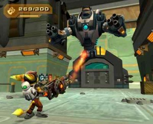 Ratchet & Clank 3 : Up Your Arsenal - PS2 (Sony Computer - Insomniac Games, 2004)