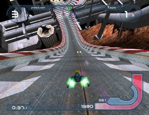 Wipeout Fusion - PS2 (Sony Computer - Studio Liverpool, 2001)