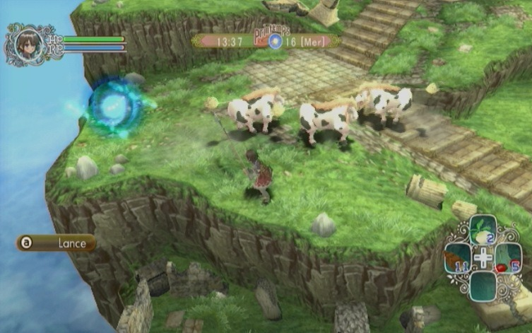 Rune Factory Frontier - Wii (Rising Star Games, 2010)