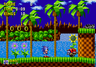 Sonic the Hedgehog (Megadrive - Console Virtuelle)