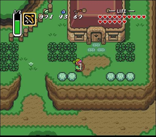 Legend of Zelda : A link to the past (eStore)