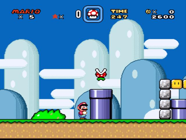 Super Mario World (SNES - eStore)