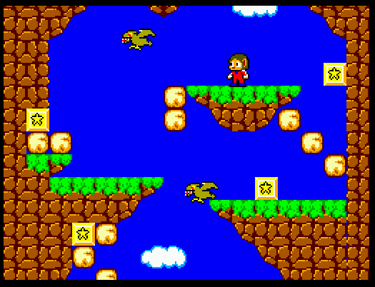 Alex Kidd in miracle world (Master System)