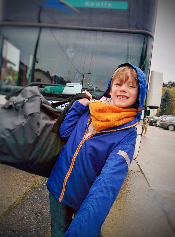 Charly - Départ en classe verte 2015 - Sart Tilman