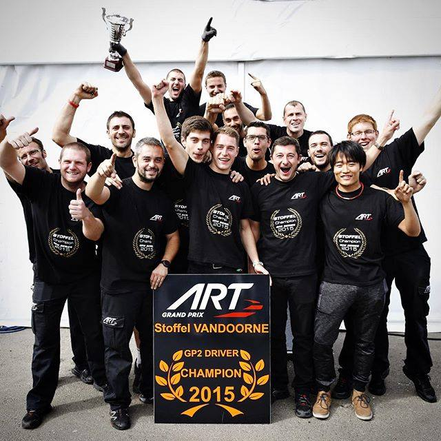 Stoffel Vandoorne - Champion GP2 2015 - Photo Officiel