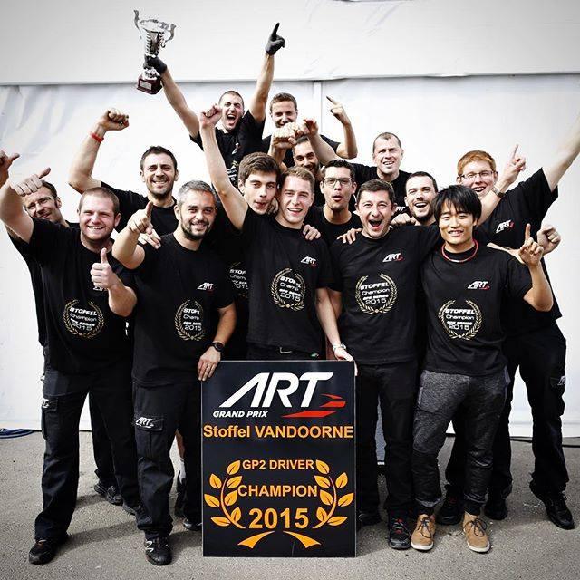 Stoffel Vandoorne - Champion GP2 2015 - Photo Officiel