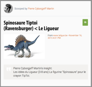 Spinosaure Tiptoi (Ravensburger)