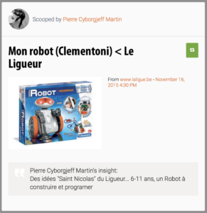 Mon robot (Clementoni)