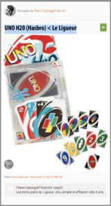 UNO H20 (Hasbro)