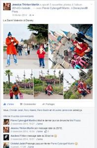 Facebook - février 2014 - Disney