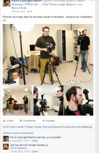 Facebook - Février 2014 - Studio Multimédia - eCampus - ULG