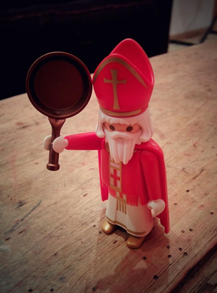 Saint Nicolas surveille - Playmobil