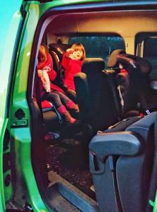VW Caddy 2015 - accès rang 3