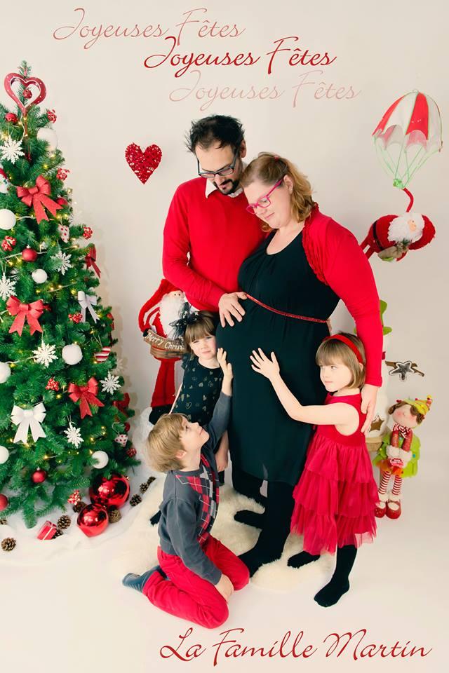Joyeux Noël - Famille Martin 2015