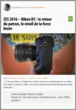 100% e-Media : Nikon présente son D5